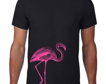 CLEARANCE FINAL SALE, Flamingo Tshirt, Pink Flamingo T Shirt, Flamingo Tee, Bird, Animal,