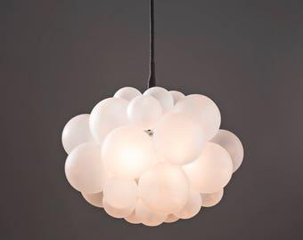 The 31 bubble chandelier 22 diameter custom the frosted 31 bubble chandelier 22 diameter custom cord options led aloadofball Images