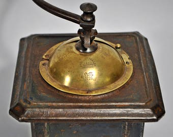 SALE 20% Off !!!  -  French PEUGEOT FRERES coffee grinder from the early 1900's