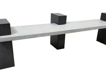 Contemporary Concrete Bench