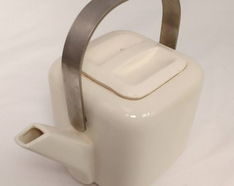 Industrial / Modernist Square Tea Pot — c1960s