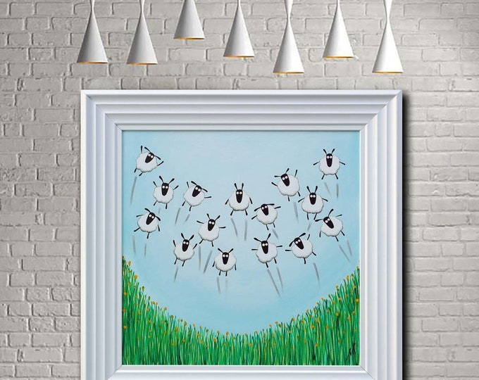"""Featured listing image: """"Spring Has Sprung"""" (Ready Framed) Original"""