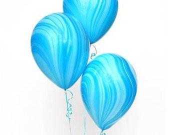 8/ Marble balloons / unicorn Party theme  / Unicorn Party /baby shower balloons / unicorn balloon/ Mermaid balloons/ mermaid party