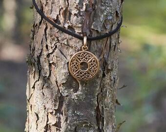 Celtic Knot Necklace, Men's Necklace, Women's Necklace, Celtic Jewelry, Pagan Jewelry, Viking Jewelry Necklace, Nordic Jewelry, Gift for Men