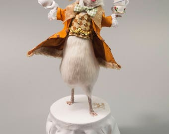 Mad Hatter Taxidermy Mouse