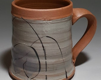 Small 8 oz. Handmade Pottery Mug