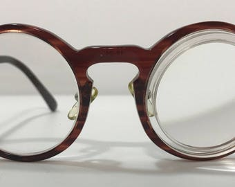 20% OFF | 1980's | Vintage Round Glasses | w/lenses