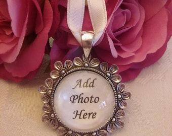 Photo Memory Bridal Bouquet Charm wedding memorial