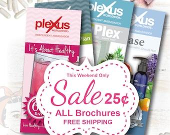 Plexus Brochure, SALE Plus FREE Shipping, Pink Drink Product Brochure, plexus swag, plexus