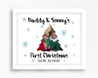 Dads first christmas | Etsy