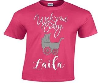 Baby Shower Shirt,Pregnancy Top/ Baby Shower Gift/ Pregnancy Shirt/  Pregnancy Announcement