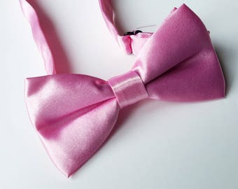 Boys Pink Bow Tie, Bow ties for Boys, Boys Double Bow tie, 6-12 Years