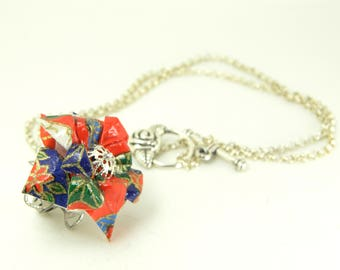 Origami necklace kanae