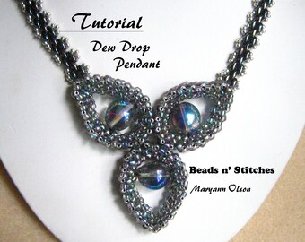 Tutorial - Dew Drop Pendant