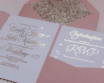 wedding invitation etsy