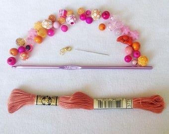 jelly yarn bracelet instructions