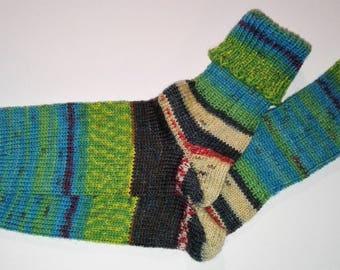 Hundertwasser knitted Socken(41-43)