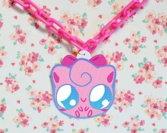 ANIMATED Jiggly Puff Necklace