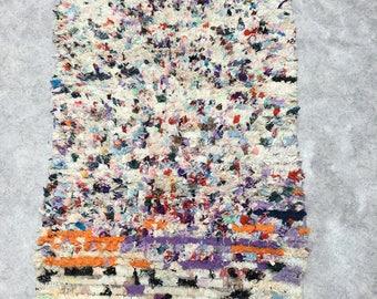 Morrocan BOUCHEROUITE  rug  5'x2.5'