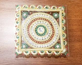 LED round/square rangoli single piece