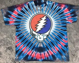 1995 Vintage Fare Thee Well Grateful Dead T Shirt TYEDYE
