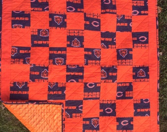 Chicago Bears Baby's Quilt