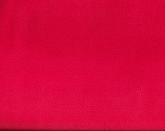 Hot pink FLEECE fabric
