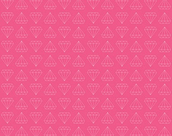 1 Yard Shine Bright by Simple Simon and Co. for Riely Blake Designs 6662 Pink