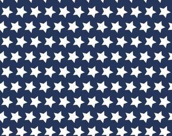 1/2 Yard Star Basic by Riley Blake Design - C315-21 Navy