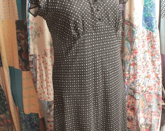 Lined spotted dress ref 601