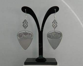 Fender Guitar Pick Earrings