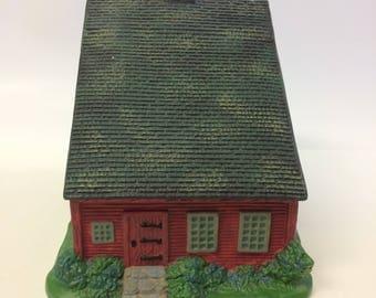Old Stonington Red Saltbox House