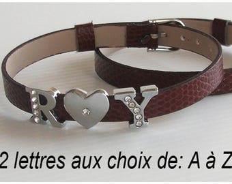 Child name bracelet