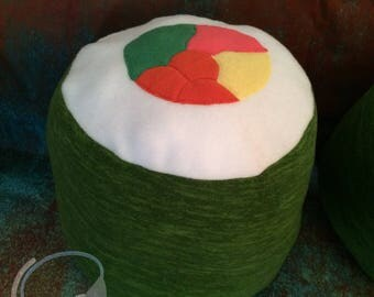 Sushi Roll Pillow/Fursuit Prop