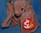 Ty Beanie Baby Batty the Brown Bat Vintage