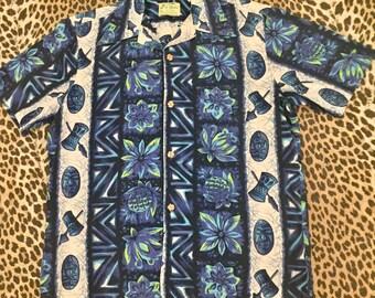 Men's 1960s Ui Maikai Hawaiian shirt