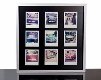Picture Frame for 9 Polaroids