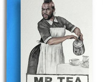 Mr Tea Card