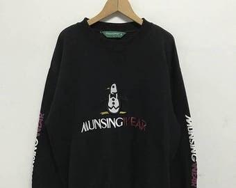 20% OFF Vintage Grand Slam Munsingwear Big Logo Sweatshirt/Grand slam Clothing/Grand slam Munsingwear Sweater