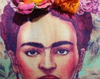 Frida Kahlo cushion cushion Daft Punk pillow Frida Kahlo Frida punk