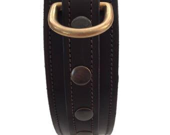 Dutchiz leather dog collar Molina