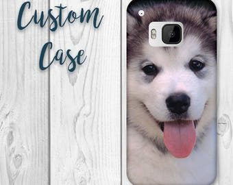 HTC One M9 Case #Custom Photo Case, Design Your Own Personalized Case, Monogrammed Phone