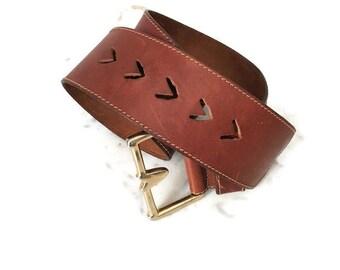 Cintura pelle vita alta, cintura cuoio per abiti, cinturone vita alta, cintura cuoio con fibbia, cintura donna, cintura vestiti