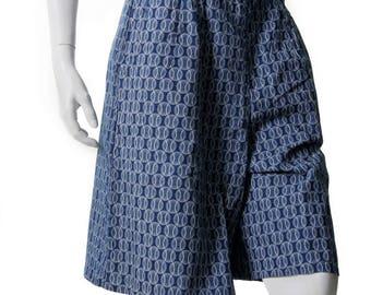Shweshwe Bermuda Shorts