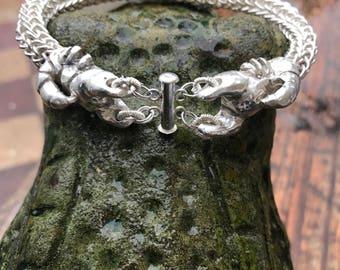 Unique scorpion bracelet.