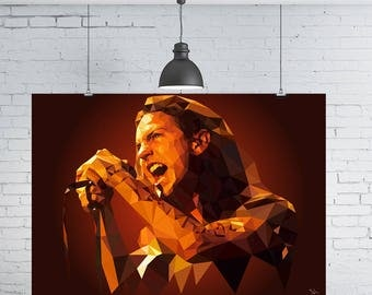 The love received is the love that is saved - Eddie Vedder Print