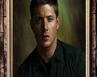 Dean Winchester portrait