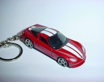 New 3D Chevrolet Corvette C6 Custom Keychain keyring key chain by Brian Thornton