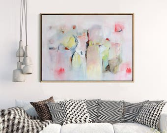 Acrylic Abstract Art, Large Abstract Print , Giclee Print , Canvas print, Modern Minimalist,  Modern Art , Fine Art Print , Wall Decor