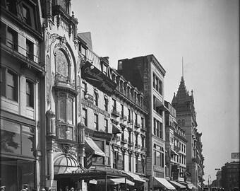 20% Off Sale - Poster, Many Sizes Available; 1906 Tremontst Boston Usa Bydetroitpublishingco Lc